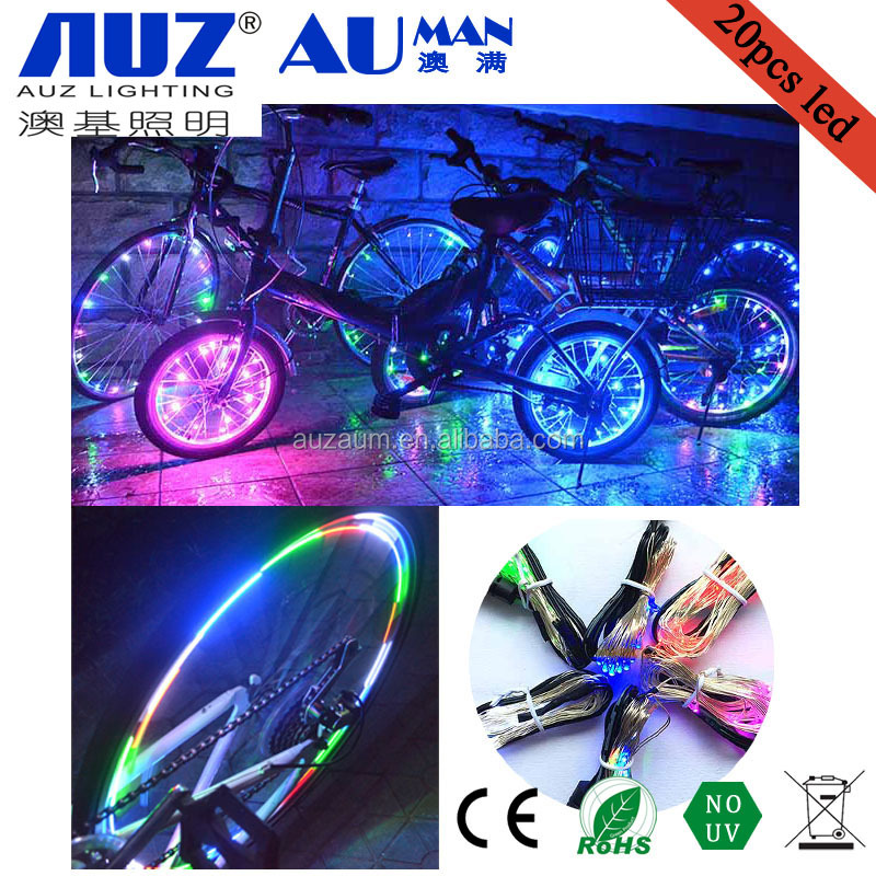 neon night light safety lights led bicycle string light