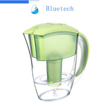 Best quality Tulip 2.4 L capacity BPA free alkaline activated carbon household drinking water purifier water filter jug
