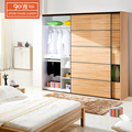 Guangdong home furnitures bedroom customized high class durable mdf italian wardrobe design