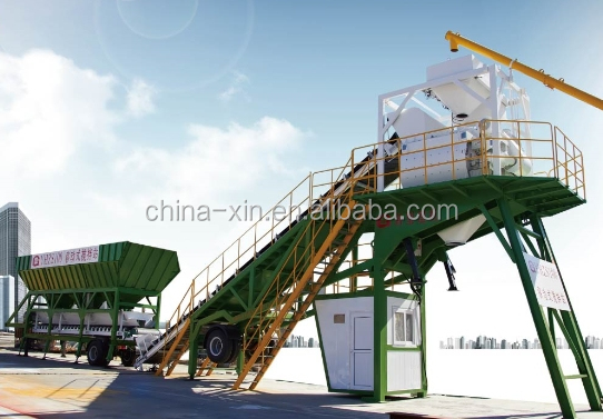 Construction Building Concrete Mixing Plant/ equipment YHZS75