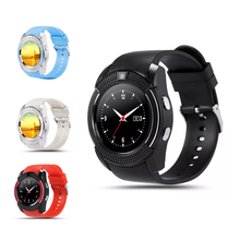 Hallowmas pedometer BT phone watch,V8 smart mobile watch phones with micro sim card mobile watch phones price in pakistan