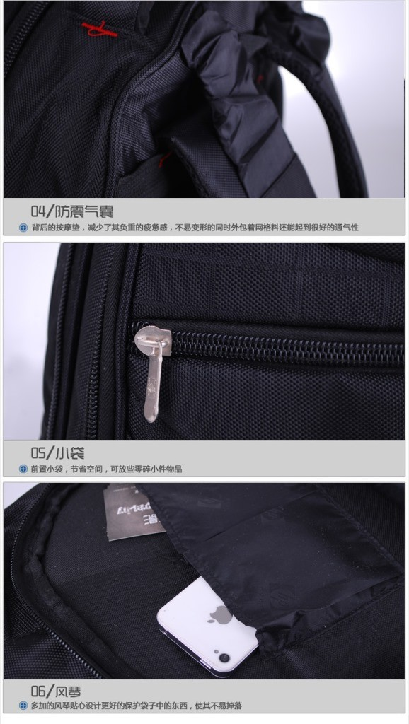 Newest Hot Sell High Quality Cheap Price Waterproof Nylon Laptop Backpack Bag