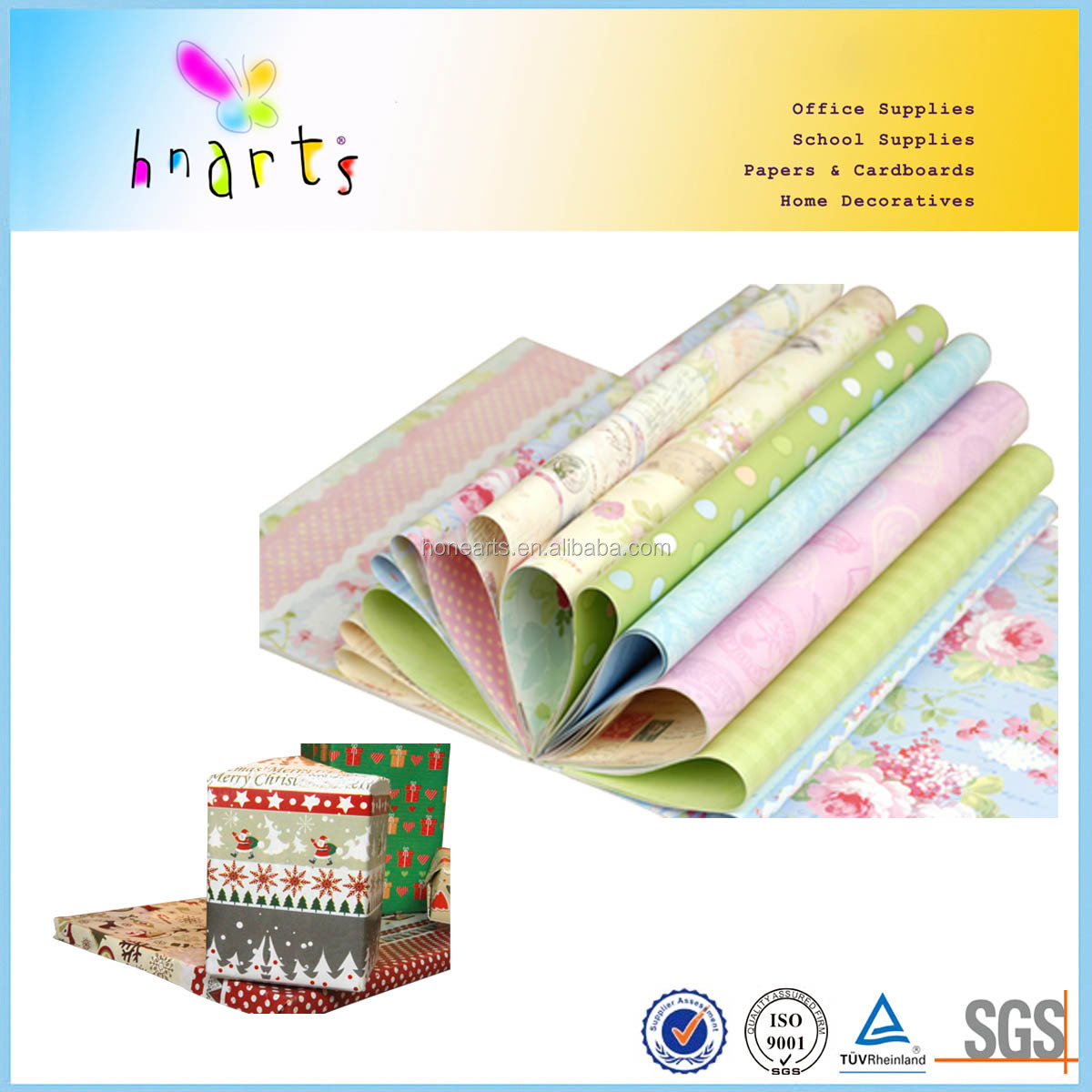 wrapping paper wholesale
