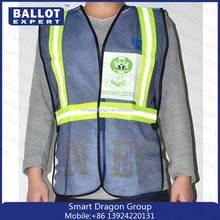high quality safety equipments/Mesh Printed Safety Reflective Vests