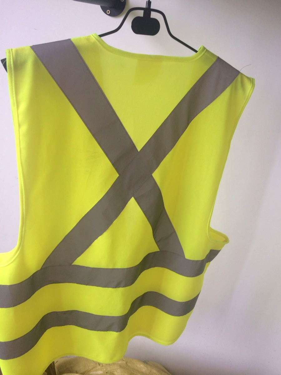 Supply Type and High visibility reflective tape 3M high visibility Feature Vest with Air Bag