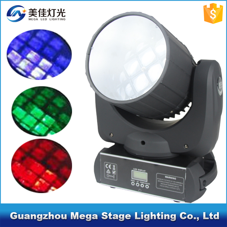 stage light equipment christmas decor 12x10w 4in1 moving head laser