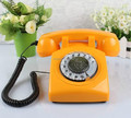 2016 Wholesale Cheap Corded Telephone Old Vintage Rotary Phone
