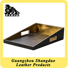 Janpanese Popular Hotel Room Eco-friendly Leather Shoe Tray