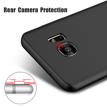 2018 New Phone Accessories Soft Silicone TPU Cell Case Cover Ultra-thin Protective Cover for Samsung S7 S8 Edge