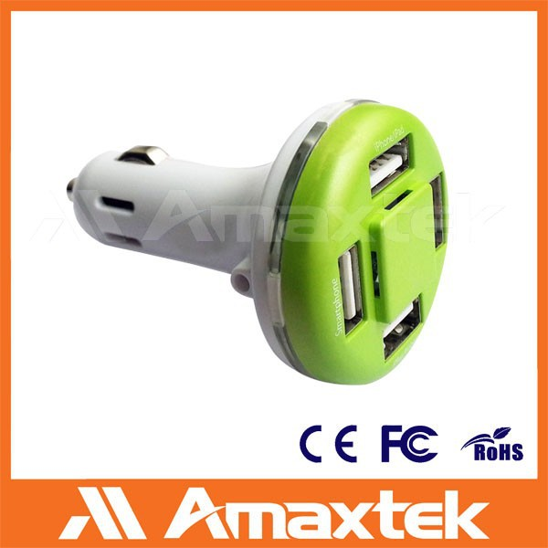 Multi USb Port Car Charger, Custom Universal Car Charger for Laptop and Mobile