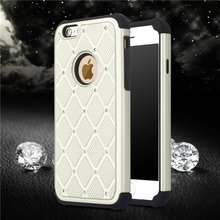 Mobile phone case for iphone 6s diamond case, bling phone cover for iphone 6s plus