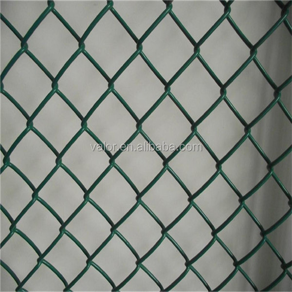 Valor Factory Plastic Coated Galvanized Chain Link Fencing 6x50