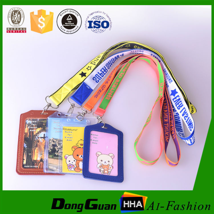 Eco-friendly Polyester Lanyard Woven Neck Strap for usb Flash Drive