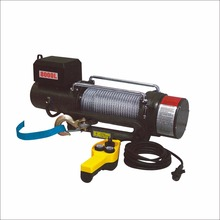 Export dv12v mini 10000lbs construction electric winch hoist