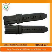 Customize Silicon Rubber Watchbands Silicone Watch Bands Interchangeable Straps