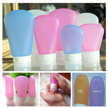 MIni Resuable Container/Civilized Smart Squeezable Travel Tube Toob Go