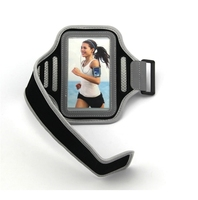 Comfortable fitness and reflective armband for mobile phone,adjustable sport arm phone Case for apple iPhone
