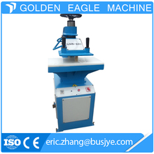 China Supplier Swing Arm Die Cutting Press Foam Leather Clicking Machine
