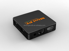 OEM ODM MIN PC U2Q HD smart tv box android 4.4 ,1G/8G KODI 14.2 amlogic s805 support DLNA MIRACAST