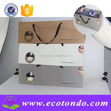 korean style handle paper bag,gift box wrapping