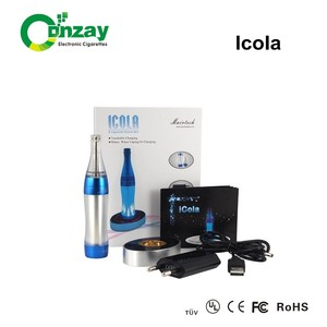 Wholesale 2014 health care products super vapor lovely ICOLA kit electronic cigarette ce rohs