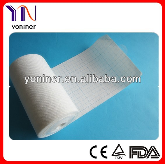 Non woven surgical dressing procedure