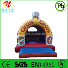 School carnival inflatable bouncer rentals, inflatable circus bounce house