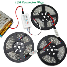 DC12V RGBW Led Light 5050 SMD Led Strip Tape+ 2.4G RGBW RF Remote controller + Power adapter +RGBW Amplifier Kit 5M 10M 15M 20M