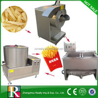 High quality 70kg/h to 300kg/h stainless steel full automatic potato chips making machine line