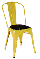 vintage metal dinning chairs/bar chairs with PU cushion
