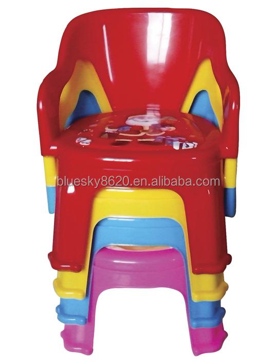 Sillas apilables de pl stico barato silla de beb en for Sillas para ninos de plastico