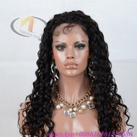 Brazilian human hair lace front & full lace wig, Supply hot sale short curly brazilian human hair wigs for black women