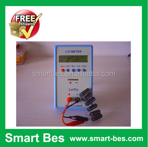 Smart Bes !~Free Shipping High precision Inductance Capacitance Digital bridge LC <strong>L</strong>/C Meter LC200A