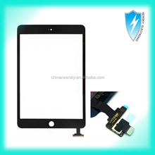 For iPad Mini Digitizer with IC connector Black