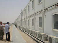 prefab moveable construction worker camp container house