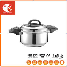 Clay Earthen Cooking Pot Two Handle Sauce Wok Folding Frying Pan