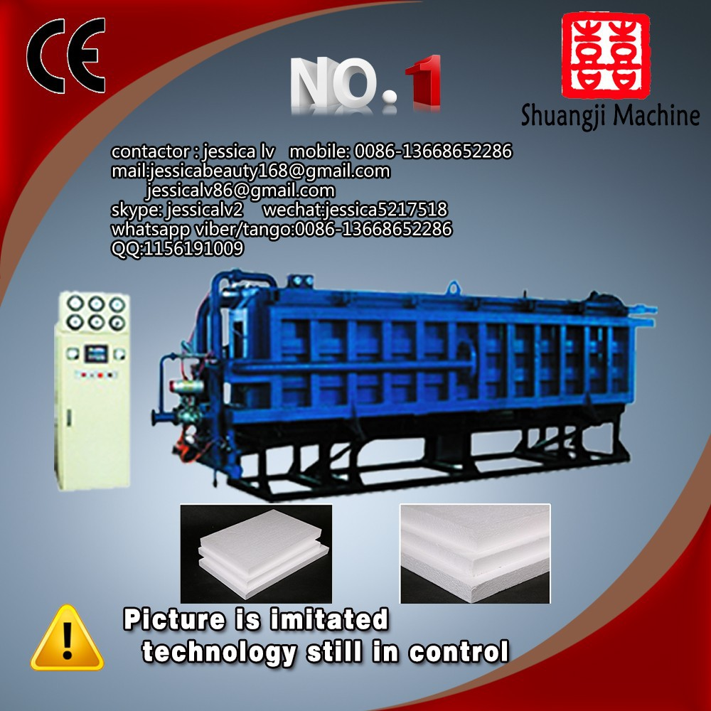 High Quality styrofoam machine for eps panel insulation