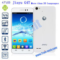 "Hot Jiayu G4T 3G Smart Phone Android 4.2 MTK6589T Quad-Core 1.5GHz 1GB 4GB 4.7"" IPS More Than 20 Languages"