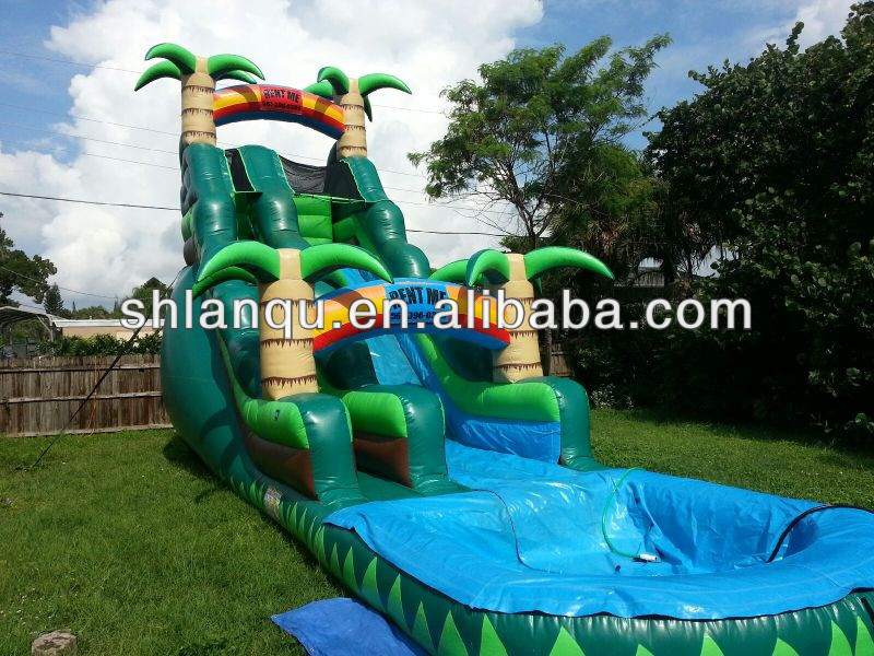 Cheap Commercial Grade Inflatable Water Slides for Sale