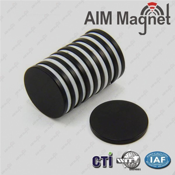 Black epoxy coating permanent bonded neodymium magnet