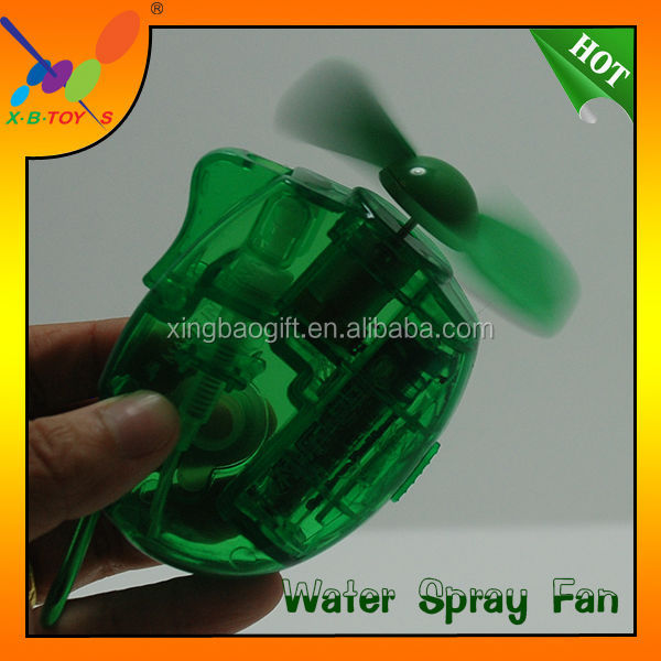 Popular Mini Cool Carabiner Keychain Water Mist Fan.