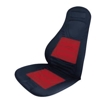 Car Front Seat Funny Heated Polyester Seat Cover
