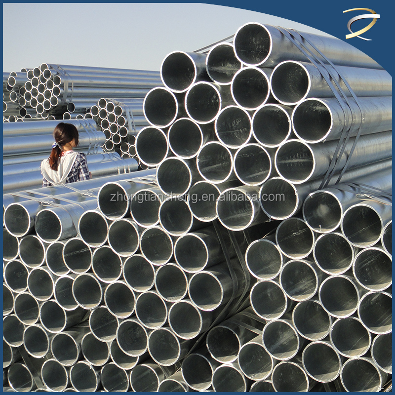 Mild steel price per kg Galvanized scaffolding tube/steel pipe importing from china