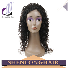 Alibaba top quality japanese fiber cheap synthetic hair lace front wig