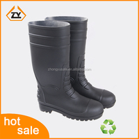 2016 top popular hot sale waterproof PVC rain boots for oil field wellington gumboot china manufacturer