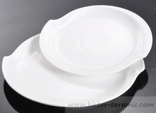 plain white porcelain and bone china products for hotel and restaurant chinaware