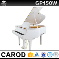 Factory/manufacturer supplied 150cm baby grand piano with solid wood pianos