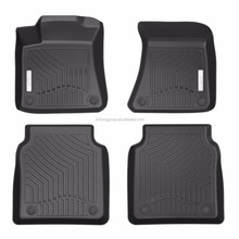 Unique design TPO 3d car floor mat for Audi car