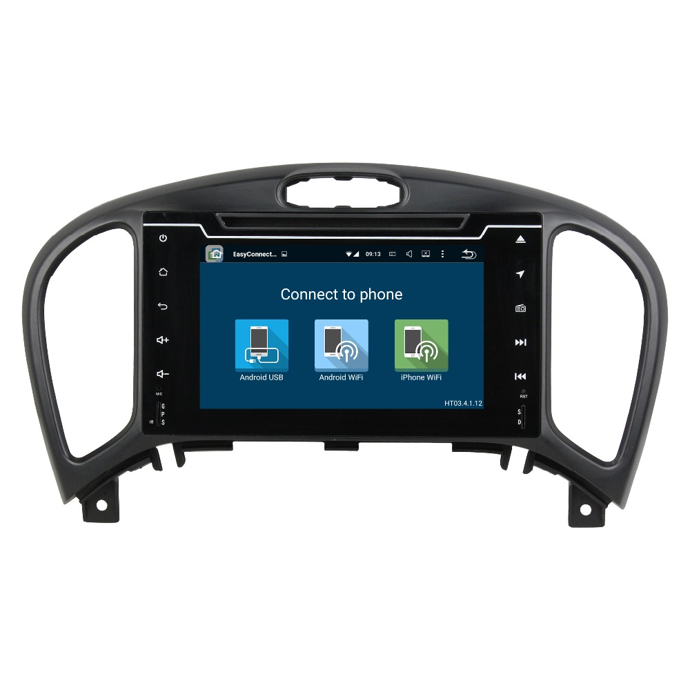 In car DVD player with GPS Navigation Android 6.0 system for Nissan Juke 2014