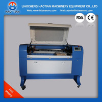 factory price 80W wood/acrylic/glass/wine bottle/leather/rubber Co2 laser engraving cutting machine for sale